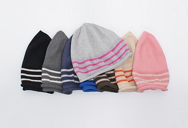 ケア帽子カラー展開
