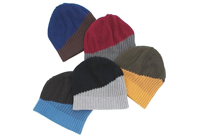 リバーシブルのケア帽子