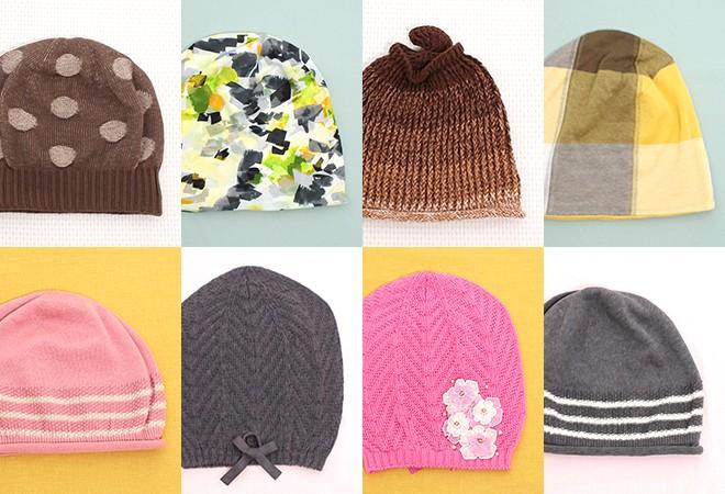 春におすすめのケア帽子