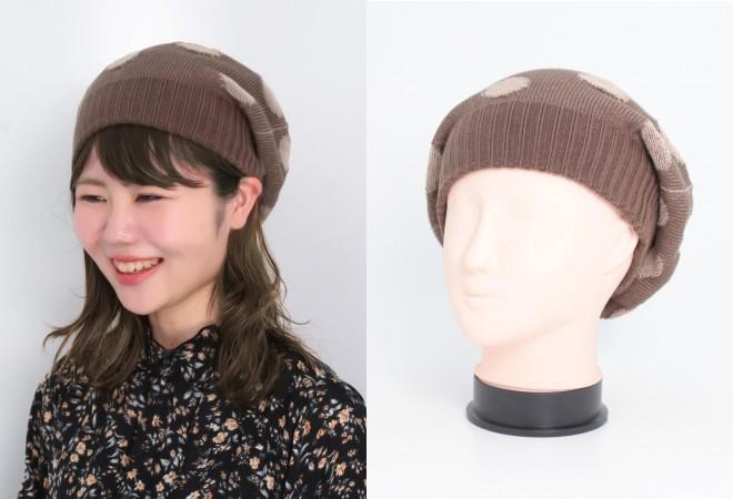 春のケア帽子かぶり方